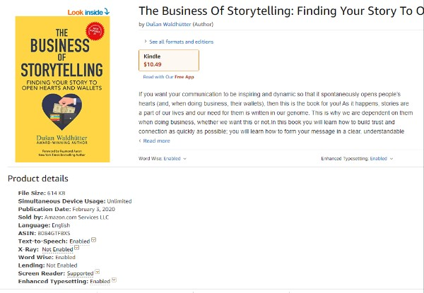 The-Business-of-storytelling-kindle
