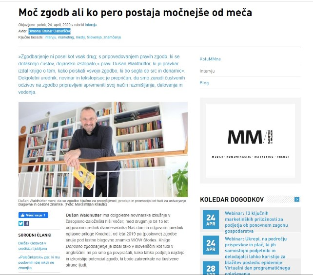 Marketingmagazin.si – intervju